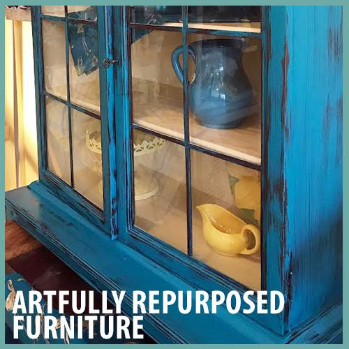 Artfully Repurposed Furniture